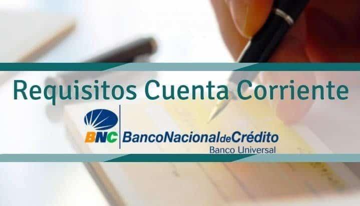 Banco Nacional de Credito apertura de cuenta