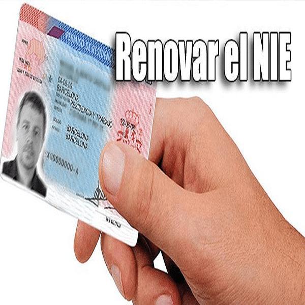 REQUISITOS PARA RENOVAR EL NIE