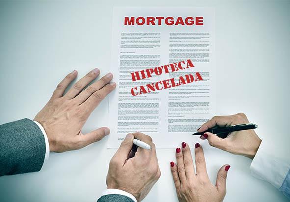 Cancelación de Hipoteca