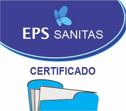 sanitas certificado