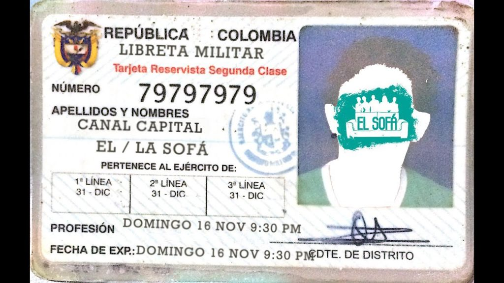 LIBRETA MILIATAR COLOMBIA