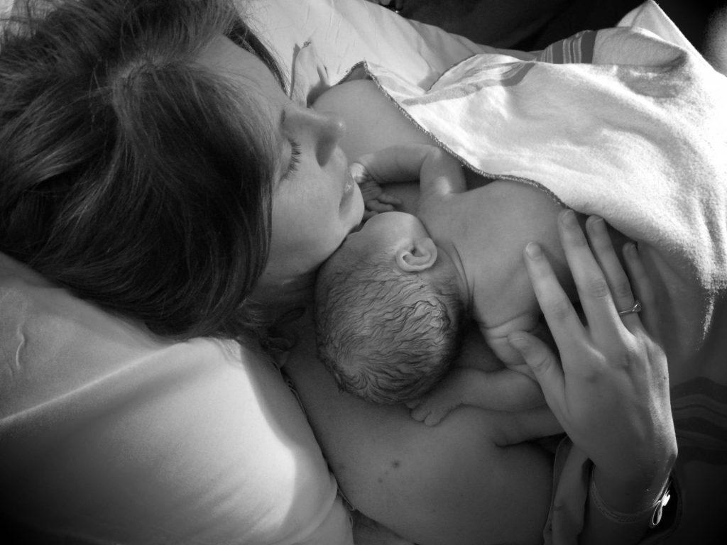 baja antes del parto
