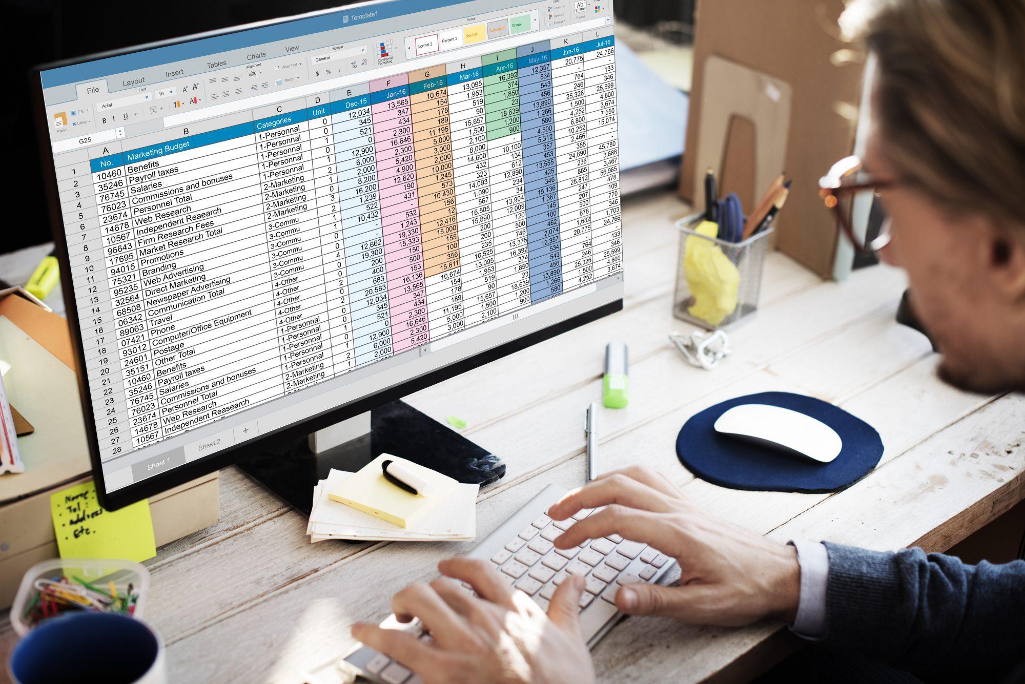 Cómo hacer una Nómina en Excel
