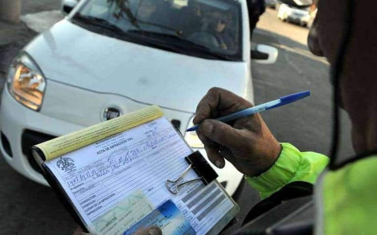 multas de transito