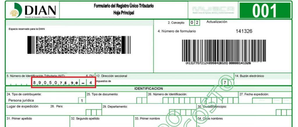 Cómo buscar el NIT de una empresa en Colombia-2