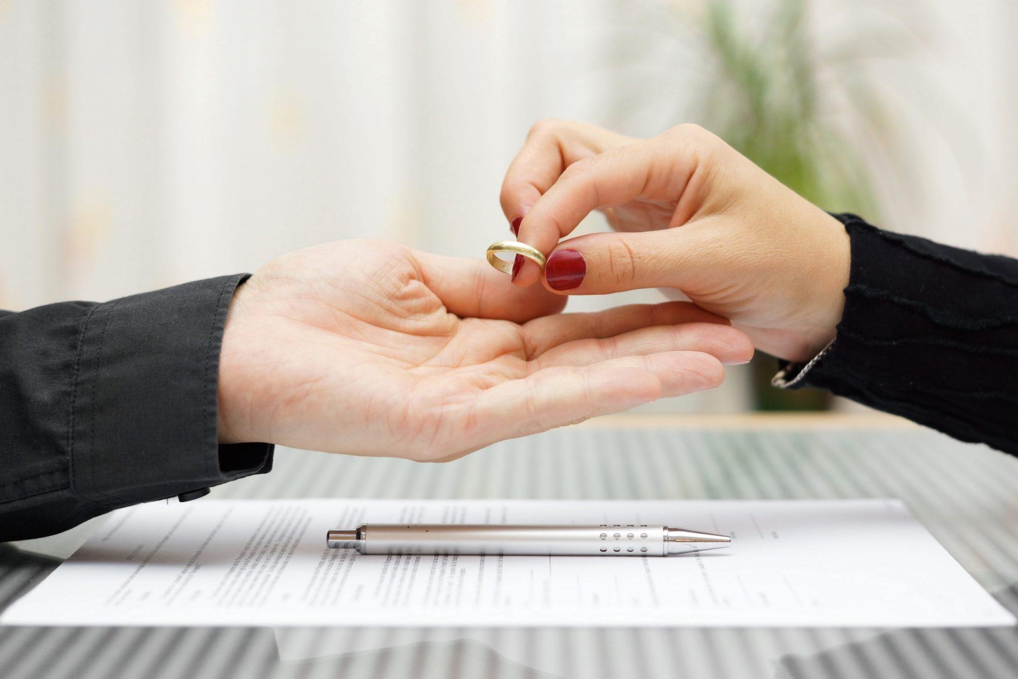 proceso de divorcio en estados unidos